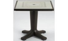 """Стол """"Giove"""" 80х80 (кофе моз. Ravenna)"""