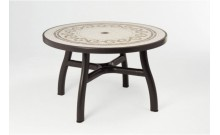 """Стол """"Colosseo"""" d120 (кофе моз. Ravenna)"""