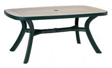 """Стол """"Toscana 165"""" (зеленый Ravenna)"""