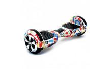 Гироскутер Smart Balance Wheel 6.5 - Граффити белый