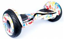 Гироскутер Smart Balance Premium 10.5 PRO - Граффити белый