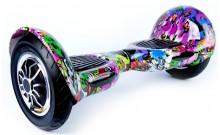 Гироскутер Smart Balance SUV 10 - Фиолетовый граффити
